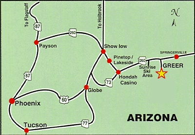 Arizona39s Roads To Greer